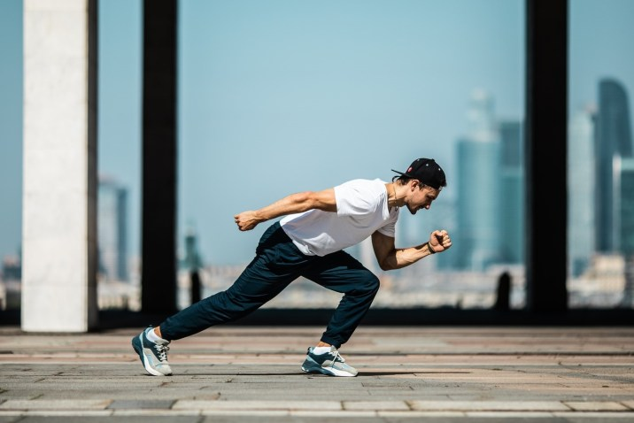 Motivated man running - Emotional Talent