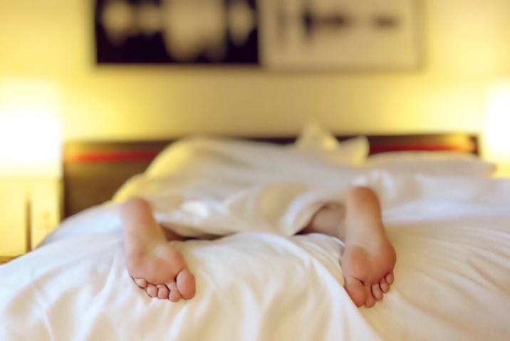 Person in bed - Chronic fatigue recovery