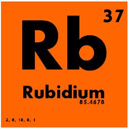 Rubidium Chemical Symbol