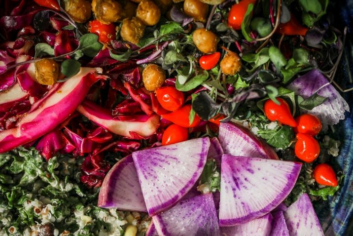 vegetarian yogic meal