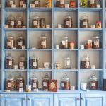 Herbal treatments at a store