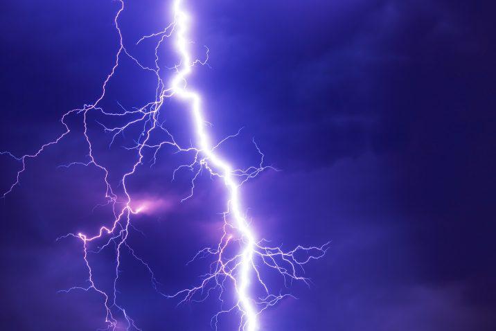 Lightning can kill you
