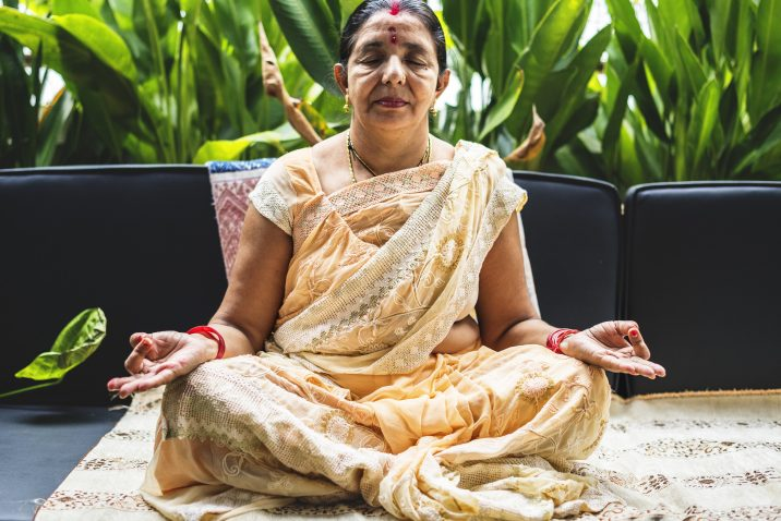A woman that is an Ayurvedic practioner