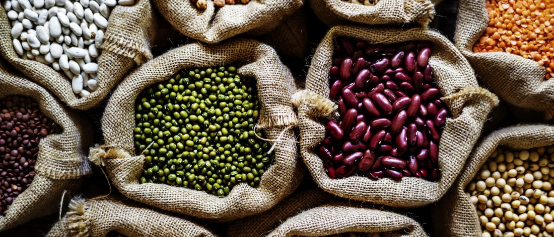 Beans are a lysine-rich food