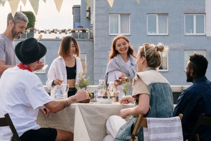 See Myself in Others - People having dinner