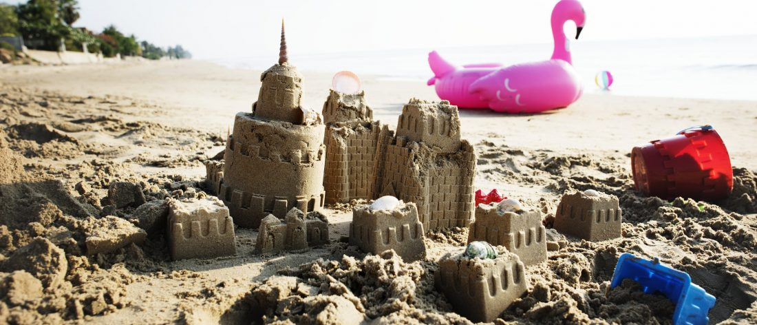 Sandcastle, which is an example of things impermanent