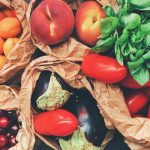 Fresh fruits and vegetables, a source of good carbs
