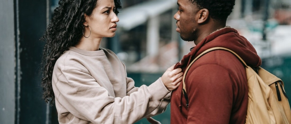 Relationship Addiction - Couple Arguing