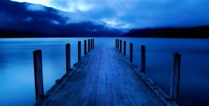 Silent dock on the water - Journey to Silence