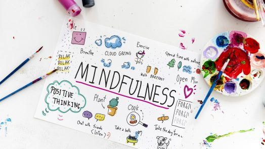 A drawing of mindfulness