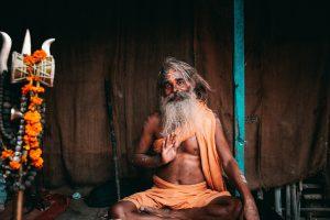 Holy man from Varanasi