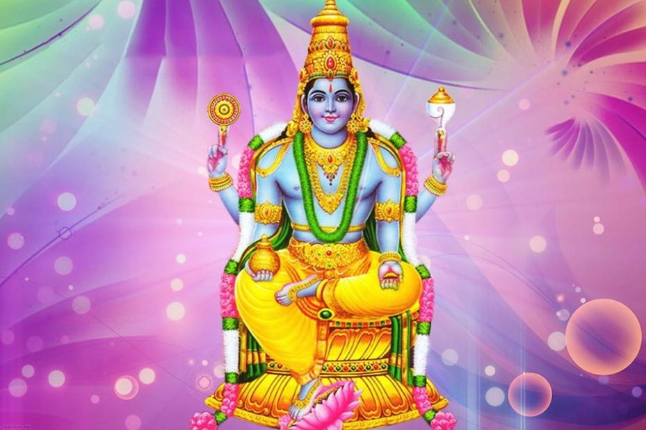 Lord Dhanvantari, the God of Ayurveda
