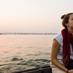 Woman in boat - Precious Human Life